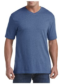 Harbor Bay Moisture-Wicking V-Neck T-Shirt