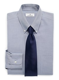 Enro Non-Iron Pinpoint Oxford Dress Shirt