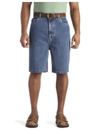 Canyon Ridge Loose-Fit Denim Shorts