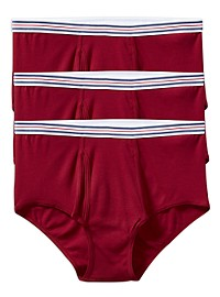 Harbor Bay 3-pk Color Briefs