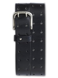 Harbor Bay Double-Prong Leather Belt