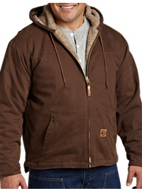 Berne® Sanded Hooded Work Jacket