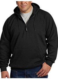 Berne Quarter-Zip Hooded Sweatshirt