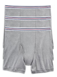 Harbor Bay 3-pk Boxer Briefs