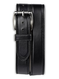 Harbor Bay Wide Leather Jeans Belt