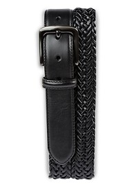 Harbor Bay Braided Stretch Leather Belt