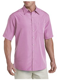 Harbor Bay Short-Sleeve Microfiber Sport Shirt
