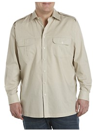 Harbor Bay Long-Sleeve Pilot Sport Shirt
