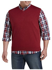 Harbor Bay V-Neck Sweater Vest