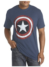 Marvel Comics Captain America Graphic Tee