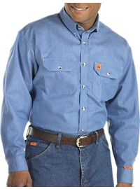 Riggs Workwear by Wrangler Flame-Resistant Work Shirt