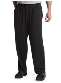 Reebok PlayDry Tech Open-Hem Pants