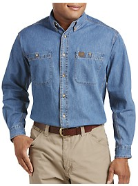 Riggs Workwear by Wrangler Denim Work Shirt