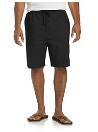 Island Passport Linen-Blend Drawstring Shorts