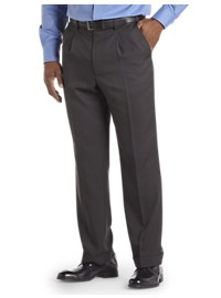 Gold Series Waist-Relaxer Pleated Dress Pants
