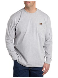 Riggs Workwear by Wrangler Long-Sleeve Pocket Tee