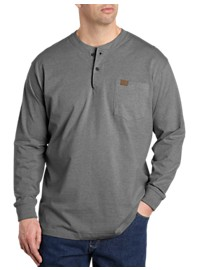 Riggs Workwear by Wrangler Long-Sleeve Henley