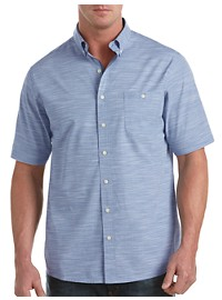Synrgy™ Space-Dyed Stripe Sport Shirt