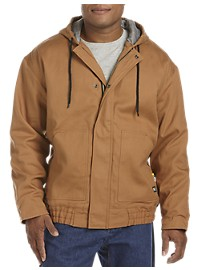 Berne Flame-Resistant Quilt-Lined Hooded Jacket