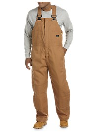 Berne Flame-Resistant Deluxe Quilt-Lined Bib Overalls