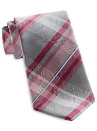 Geoffrey Beene Sunlight Plaid Tie