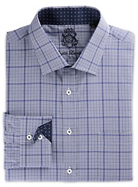 English Laundry Medium Plaid Dress Shirt
