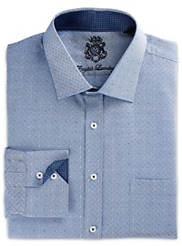 English Laundry Dobby Dot Dress Shirt