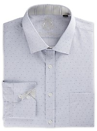English Laundry Dobby Mini Check Dress Shirt