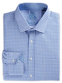 English Laundry Tonal Check Dress Shirt