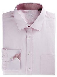 English Laundry Herringbone Dress Shirt
