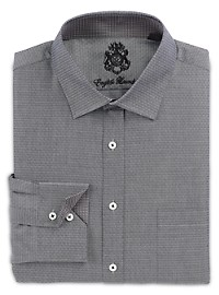 English Laundry Tonal Geo Print Dress Shirt