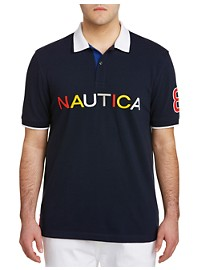 Nautica Endless Capsule Multi Logo SS Polo