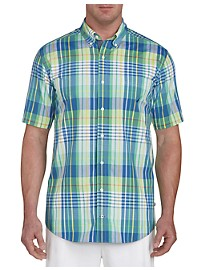 Nautica Plaid Sport Shirt
