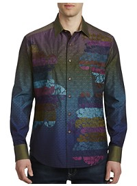 Robert Graham Limited Edition Roo's Nebula Sport Shirt