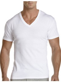 Polo Ralph Lauren 2-Pk Classic Fit Wicking V-Neck T-Shirts