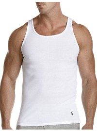 Polo Ralph Lauren 2-Pk Classic Fit Wicking Ribbed Tanks