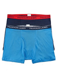 Polo Ralph Lauren 2-Pk Classic Fit Wicking Boxer Briefs