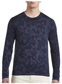 Michael Kors Abstract Floral Crewneck Sweater
