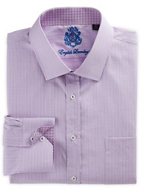English Laundry Neat Stripe Dress Shirt