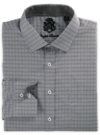 English Laundry Grid Check Dress Shirt