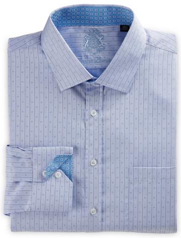 Big & Tall English Laundry Tonal Neat Stripe Dress Shirt