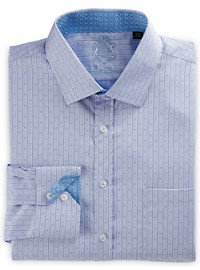 English Laundry Tonal Neat Stripe Dress Shirt