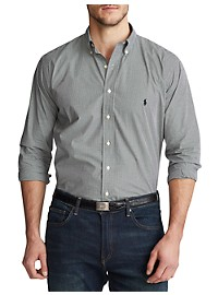 Polo Ralph Lauren Classic Fit Check Stretch Poplin Sport Shirt