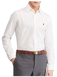 Polo Ralph Lauren Classic Fit Solid Stretch Poplin Sport Shirt