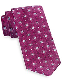 Robert Talbott Best of Class Geo Floral Silk Tie