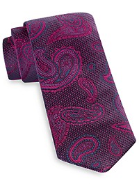 Robert Talbott Jewel-Toned Paisley Silk Tie
