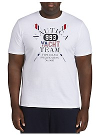 Nautica Yacht Team Crew Screen Tee