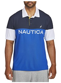 Nautica Colorblock Polo Shirt