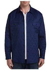 Nautica Quilted Shirt Jacket