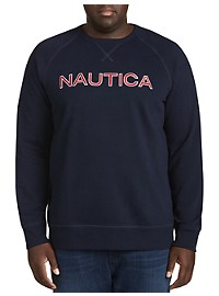 Nautica Graphic Fleece Pullover